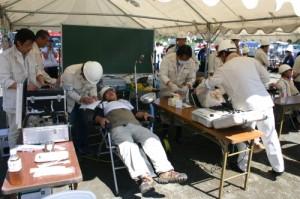総合防災訓練1